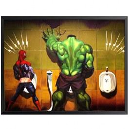 Avengers na záchodě