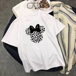 Leopardí Minnie Tričko