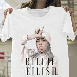 Tričko s Billie Eilish