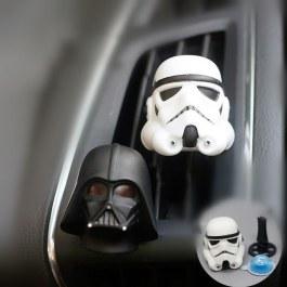 Držák na vůni do auta ve tvaru hlavy Star Wars