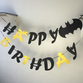 Nápis Batman Happy Birthday