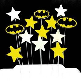 Party dortové ozdoby Batman