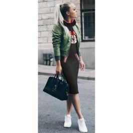 Jarní/podzimní šaty s Minnie