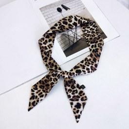 Gepardovaný šátek do vlasů