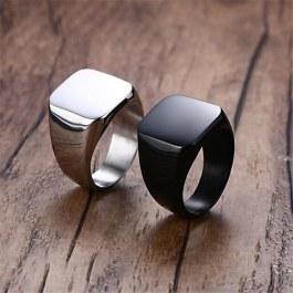Jednoduchý hranatý prsten