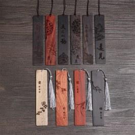 Japonské dřevěné záložky