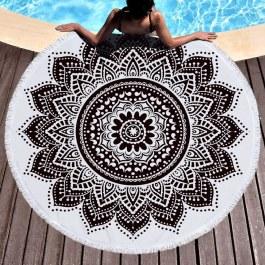 Hippie kruhový ručník