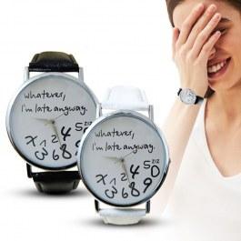 Vtipné dámské hodinky