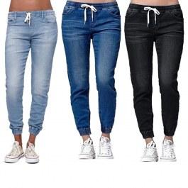 Pohodlné dámské džíny