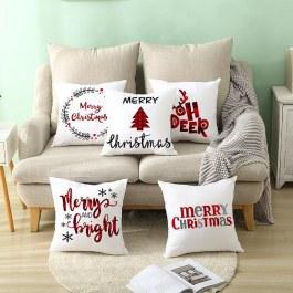 Potah na polštář s vánočním motivem