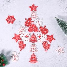 Vánoční visačky na dárky