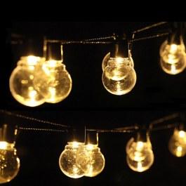 LED řetěz se žárovkami