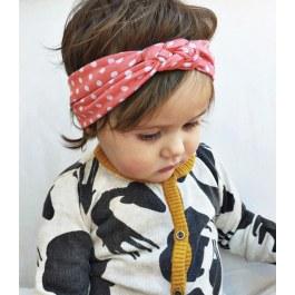 Dětská čelenka s uzlíkem