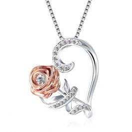 Růžička v srdci