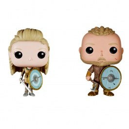 Vikingové (Lagertha, Ragnar)