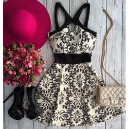 Letní vzorované šaty