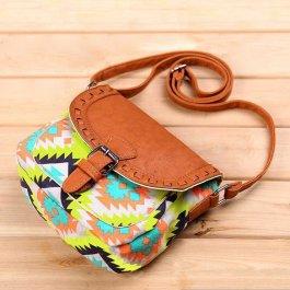 Malá vzorovaná kabelka