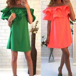 Letní šaty s volánky (4 barvy)