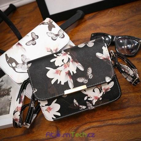 Malá kabelka Květy a Motýle