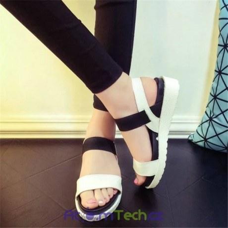 Dámské sandálky s platformou