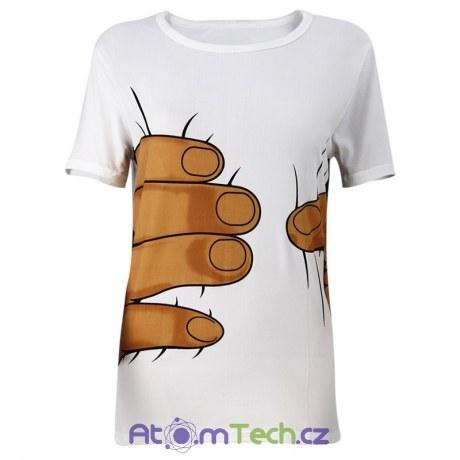 Vtipné tričko s rukou dc3df29d63