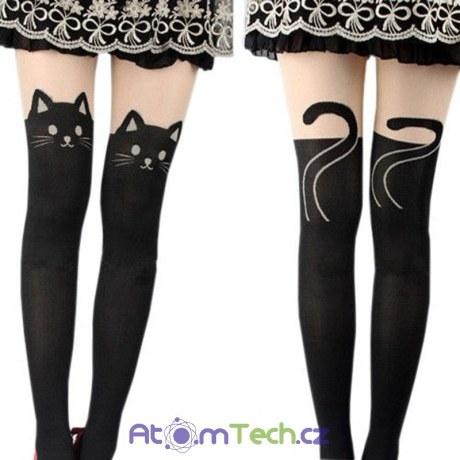 Punčochy černé kočky