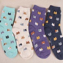 Ponožky s kočičkama