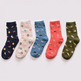Ponožky s motivem jídla