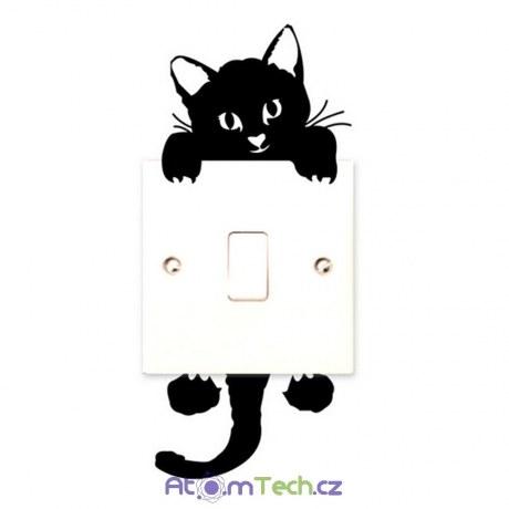 Kočička na vypínač