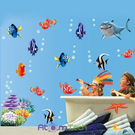 Samolepky na zeď Nemo