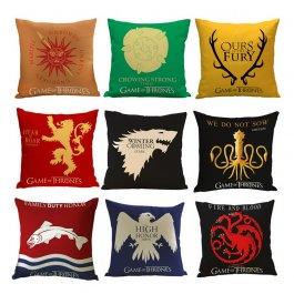 Povlak na polštář Game of Thrones - různé druhy