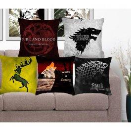 Malované povlaky na polštář Game of Thrones