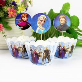 Cupcake sada Frozen 24 ks