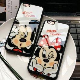 Kryt na iPhone Mickey a Minnie