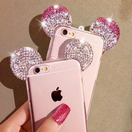 Kryt na iPhone Mickey a Minnie
