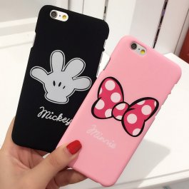 Roztomilý kryt na iPhone Mickey a Minnie