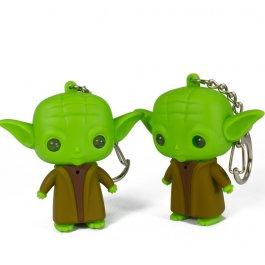 Klíčenka Yoda se světýlkem