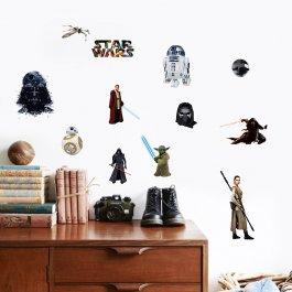 Samolepky na zeď Star Wars