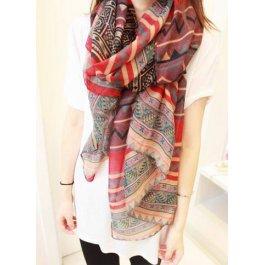 Vzorovaný šátek