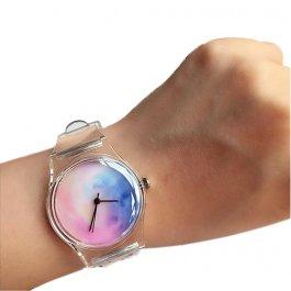 Dámské průsvitné hodinky