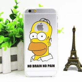 Vtipné Simpsons kryty pro iPhone