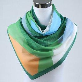 Dámský šátek s geometrickým vzorem