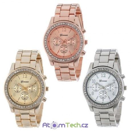 Dámské hodinky s krystaly