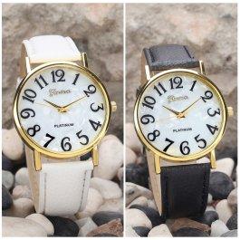 Retro hodinky s velkými čísly