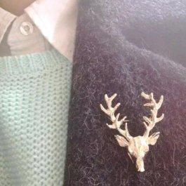 Brož Zlatý jelen