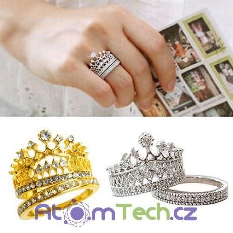 Dvojitý prsten Korunka