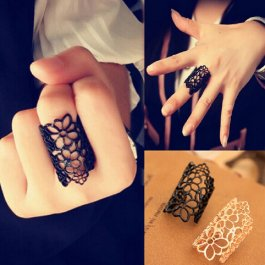Prsten Květinové obrysy