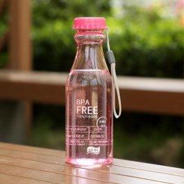 Barevná lahev na pití lesklá