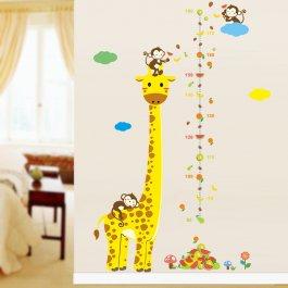 Samolepky na zeď - žirafa