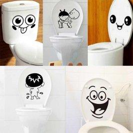 Samolepky na toaletu